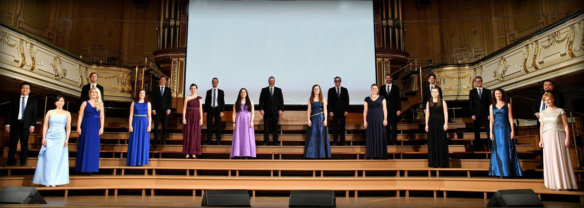 Foto aller Sängerinnen und Sänger des Vocalforum Graz